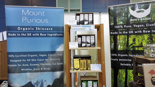 Health and beauty brand discoveries at the West Midlands Vegan Festival