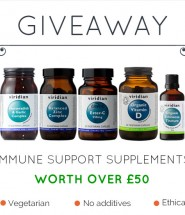 Immune support supplements giveaway