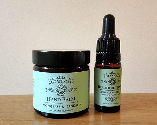 Botanicals Hand Balm and Beautiful Hands anti-ageing serum