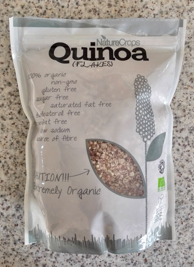 Quinoa flakes - NatureCrops