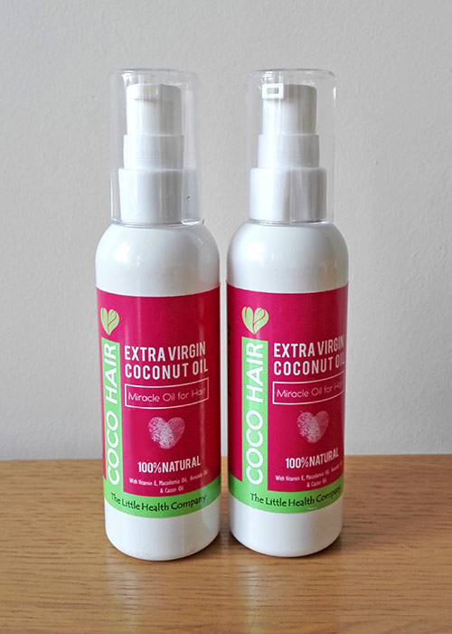 Coco hair miracle oil with coconut