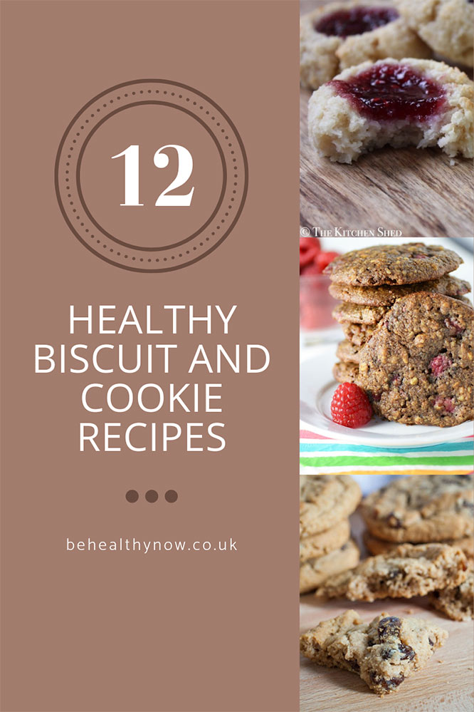 12 healthy biscuit and cookie recipes