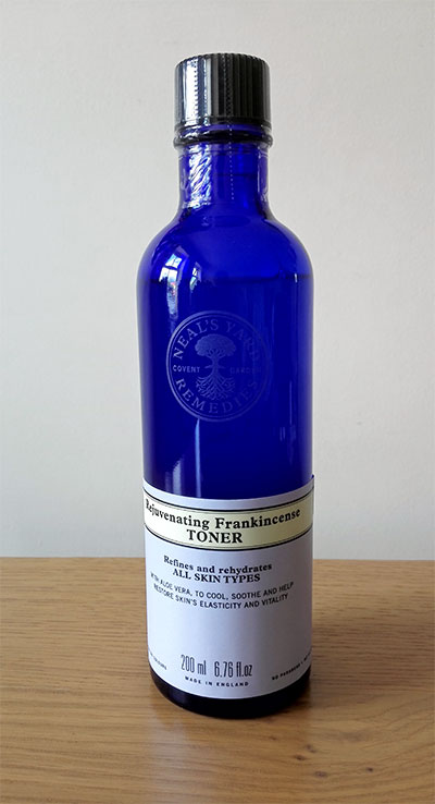 Rejuvenating frankincense toner from Neal's Yard Remedies