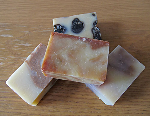 rather lovely organic soaps