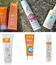 natural and organic sunscreens