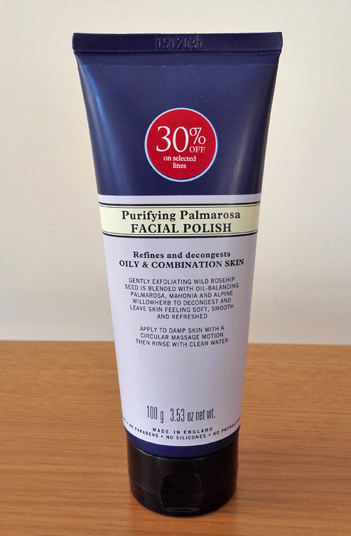 Neal's Yard Remedies: Purifying Palmarosa Facial Polish (Review)