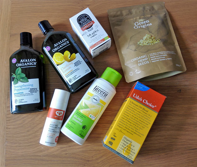 my latest health and beauty buys