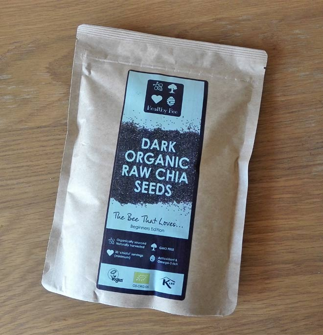 healthy bee organic chia seeds