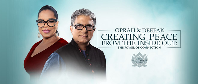 meditation challenge by Oprah and Deepak