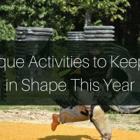 5 Unique Activities to Keep You in Shape This Year