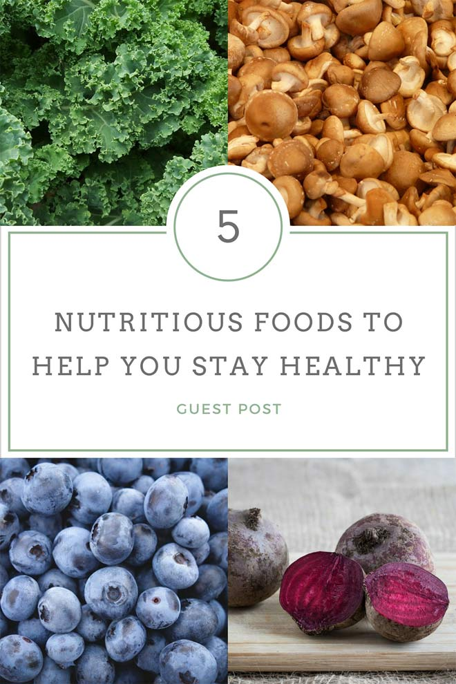 nutritious foods for health