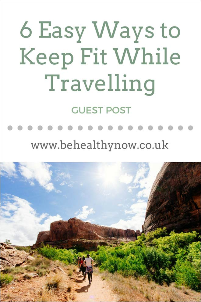 keeping fit when travelling