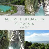 Active holidays in Slovenia - May 2017
