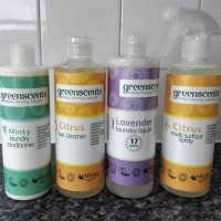 Cleaning naturally with Greenscents' vegan and allergy-friendly cleaning products