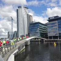 Traffic-free cycling with the HSBC UK City Ride - Manchester