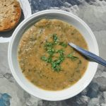 healthy courgette soup