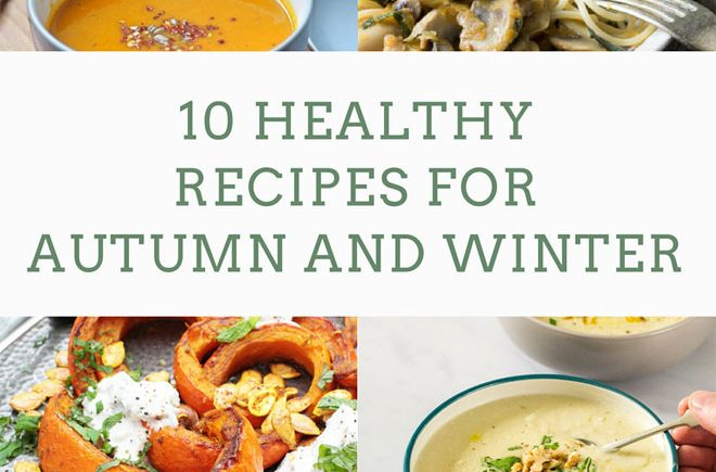 healthy recipes for winter and autumn