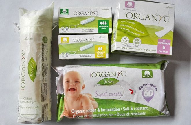 organyc products - organic cotton products for feminine care