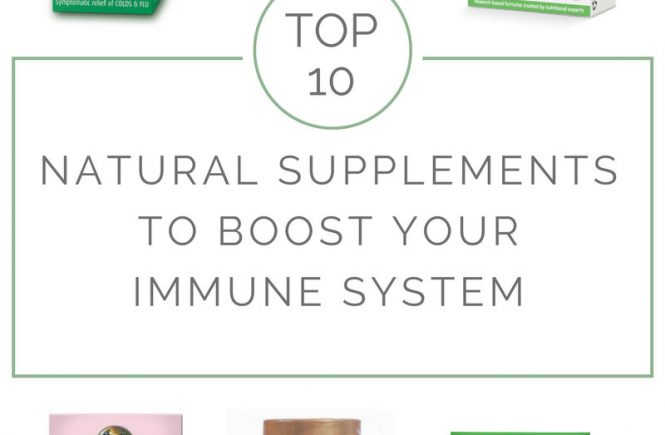 best immune system boosting supplements