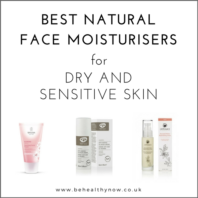 best natural face creams for dry and sensitive skin
