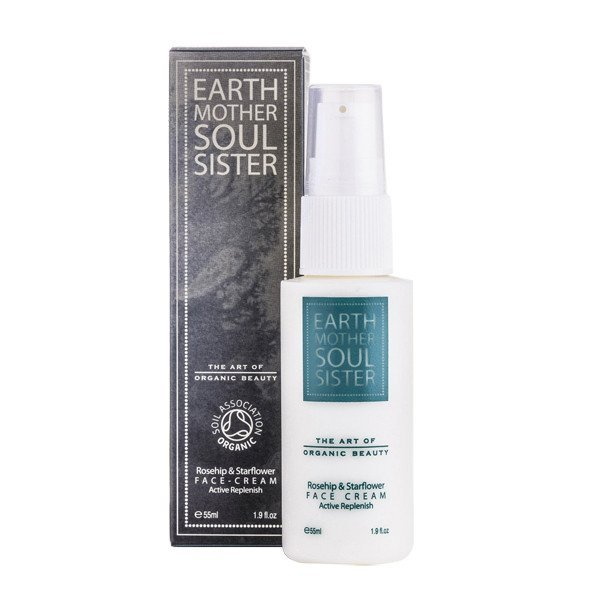 earth mother soul sister rosehip starflower face cream