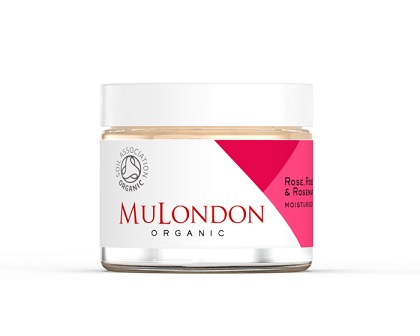 mulondon rose rosehip rosemary face moisturiser