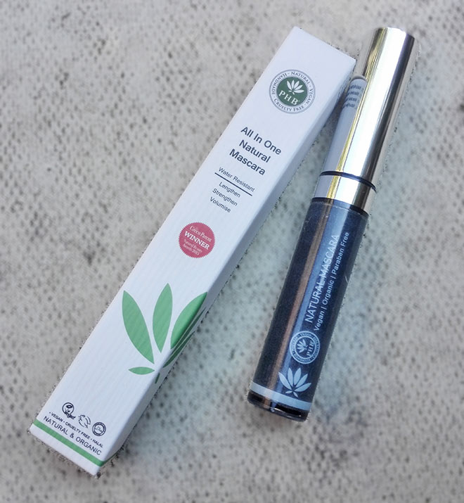 phb natural and organic vegan mascara