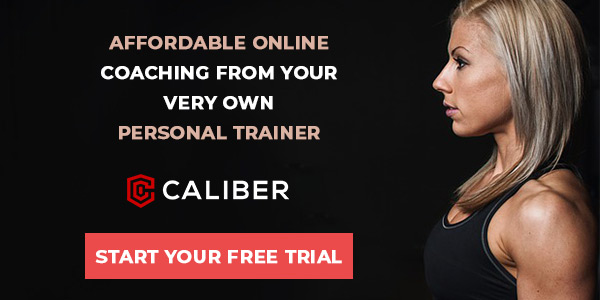 Caliber Fitness online personal training - free trial
