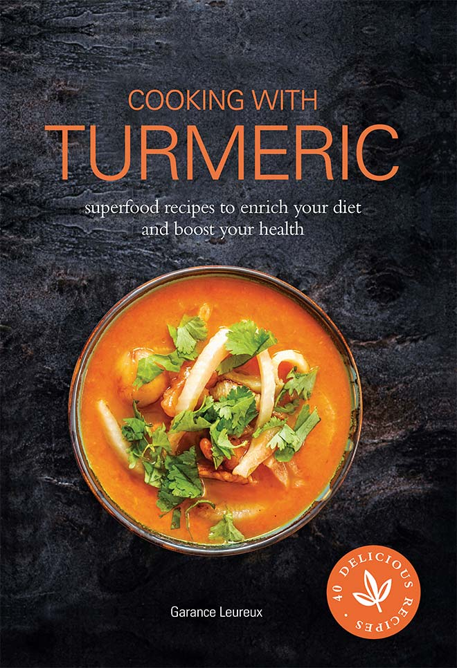 cooking with turmeric - recipe book