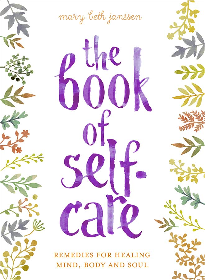 the book of self-care - book cover
