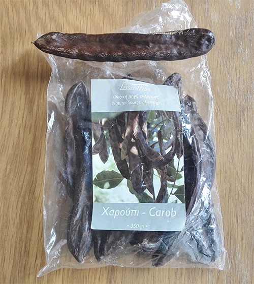 dried carob fruit