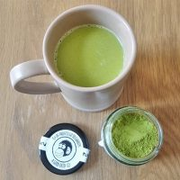 How to make a healthy matcha latte