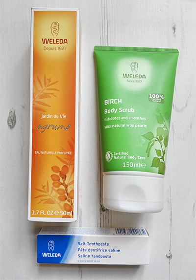 more weleda products