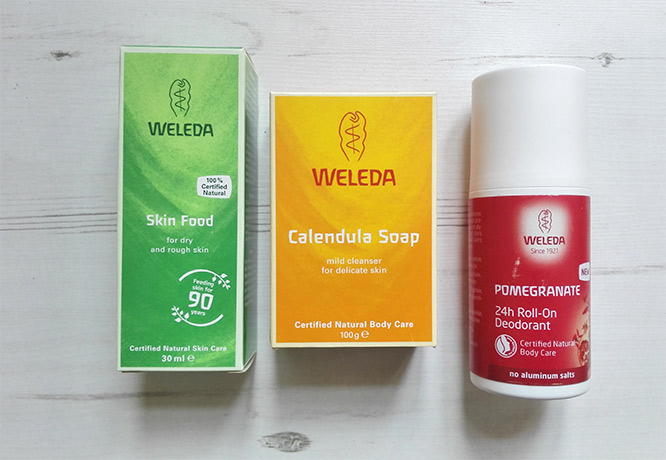 some of weleda products