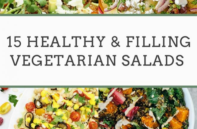 filling vegetarian salads