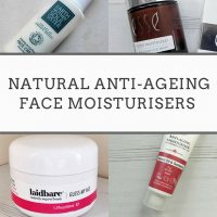Tried & Tested: Natural Anti-Ageing Face Moisturisers