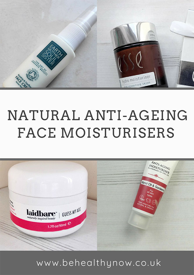 natural anti-ageing face moisturisers