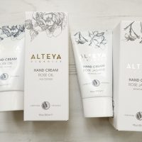 Organic hand creams from Alteya Organics - Review