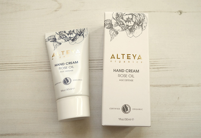 rose oil age defense hand cream alteya organics