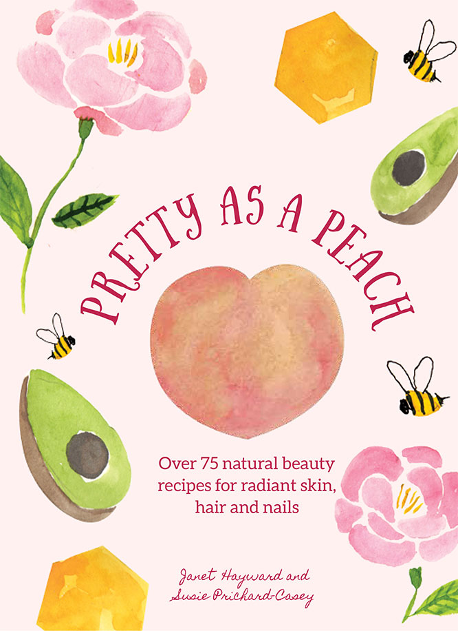 pretty as a peach - book cover