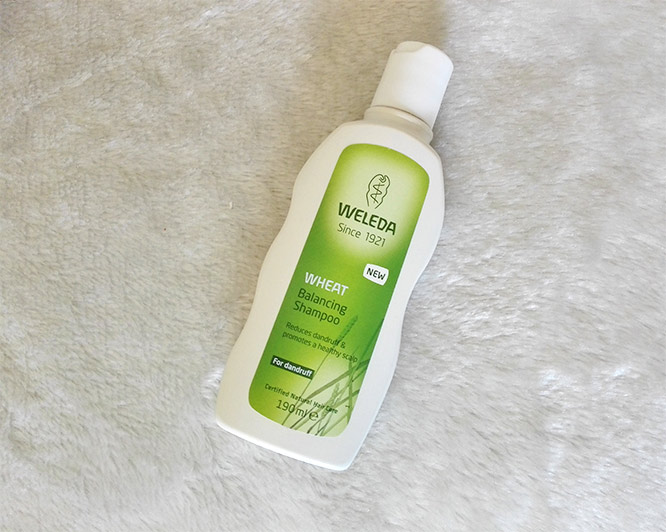 weleda wheat balancing shampoo for dandruff