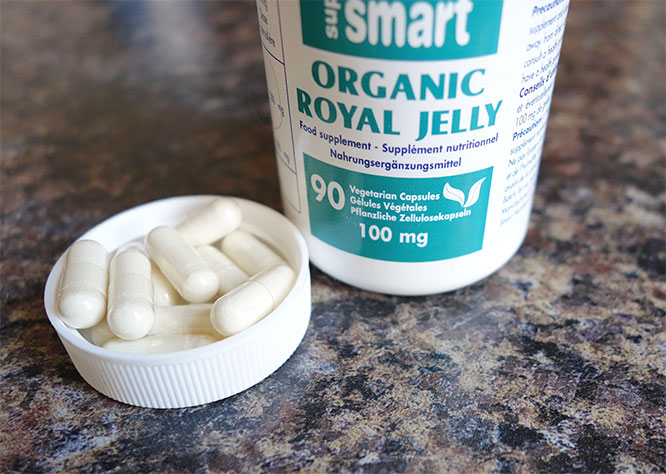 organic royal jelly capsules