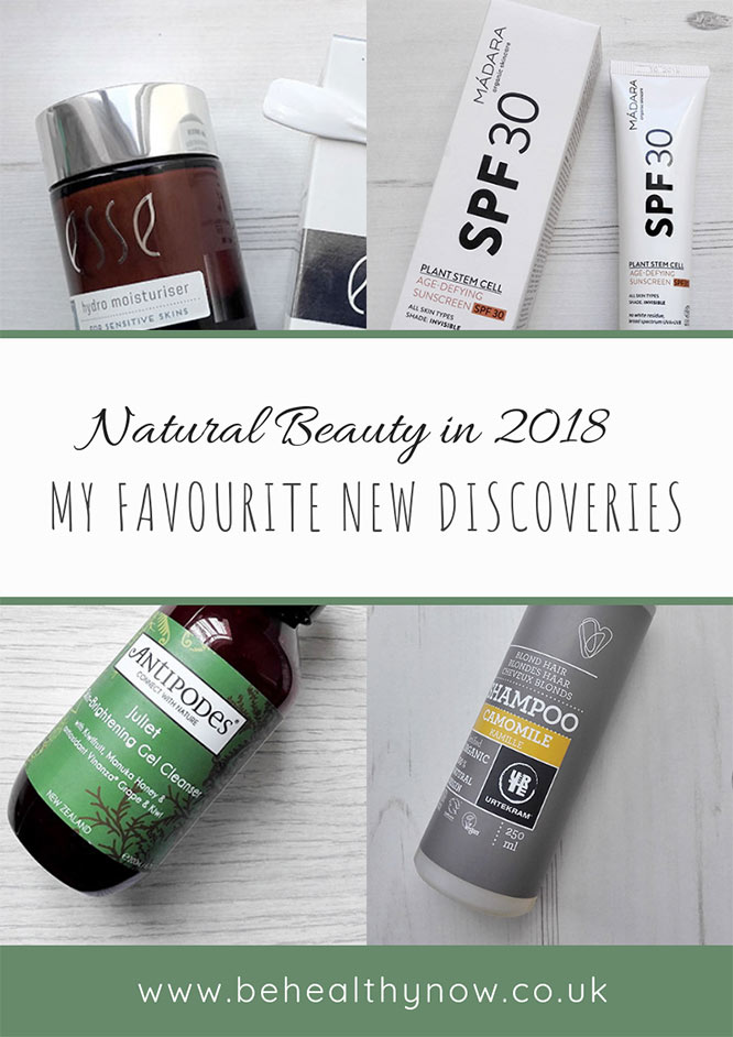 2018 green beauty favourites