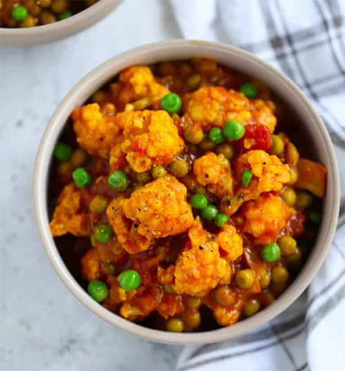 Easy Vegan Cauliflower Curry Recipe
