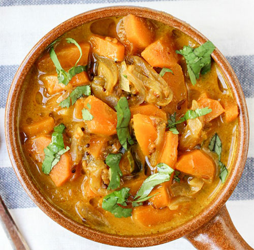 vegan carrot curry