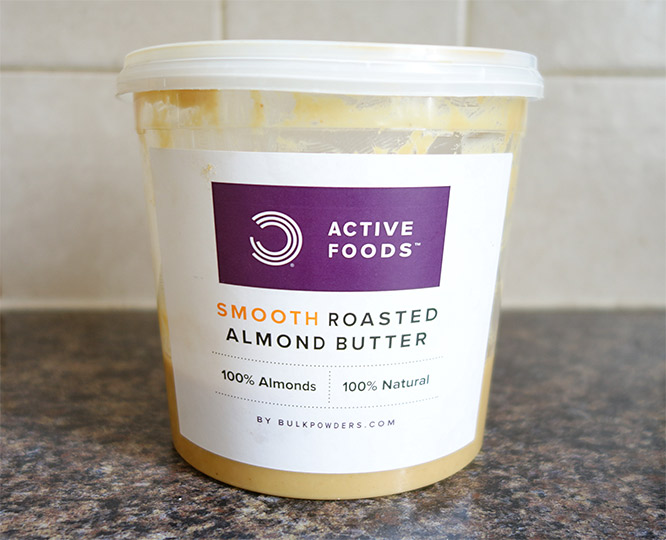 Bulk Powders almond butter