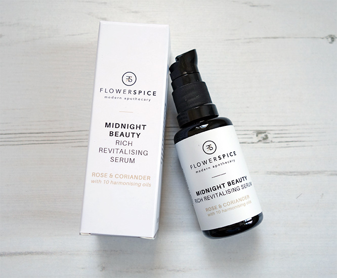 Flower and Spice Midnight Beauty Serum Rose & Coriander