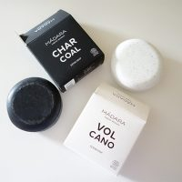 Natural soap bars from Madara: Charcoal Detox Soap and Volcano Scrub Soap (Review)