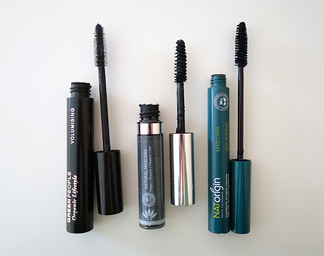 natural mascaras that I've tried