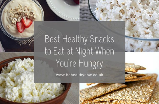 best healthy snacks at night